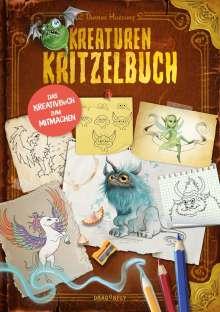 Thomas Hussung: Kreaturenkritzelbuch, Buch