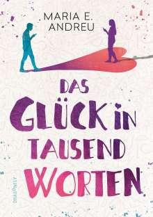 Maria Andreu: Das Glück in tausend Worten, Buch
