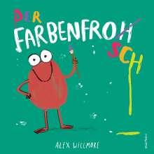 Alex Willmore: Der Farbenfrosch, Buch