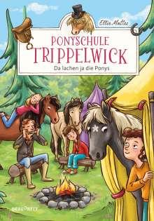 Ellie Mattes: Ponyschule Trippelwick - Da lachen ja die Ponys, Buch