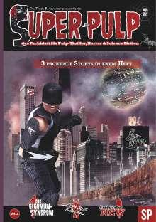 Alex De: Super Pulp Nr. 2, Buch