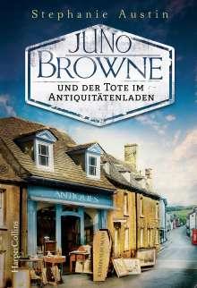 Stephanie Austin: Juno Browne und der Tote im Antiquitätenladen, Buch