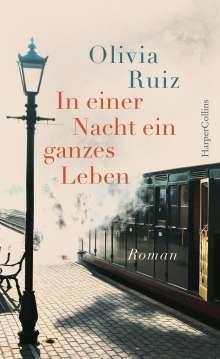 Olivia Ruiz: In einer Nacht ein ganzes Leben, Buch