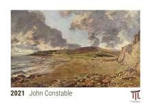John Constable 2021 - Timokrates Kalender, Tischkalender, Bildkalender - DIN A5 (21 x 15 cm), Kalender