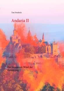 Tim Friedrich: Andaria II, Buch