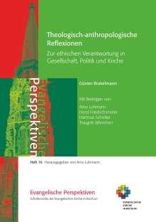 Günter Brakelmann: Theologisch-anthropologische  Reflexionen, Buch