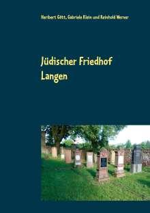 Heribert Gött: Jüdischer Friedhof Langen, Buch