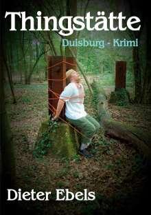 Dieter Ebels: Thingstätte, Buch