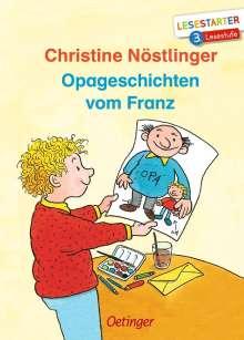 Christine Nöstlinger: Opageschichten vom Franz, Buch