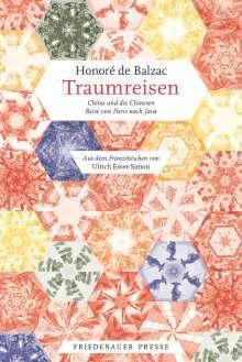 Honoré de Balzac: Traumreisen, Buch