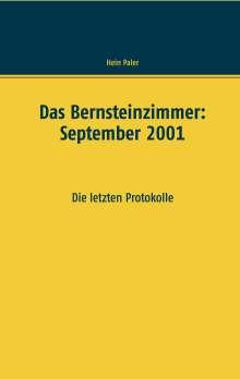 Hein Paler: Das Bernsteinzimmer: September 2001, Buch