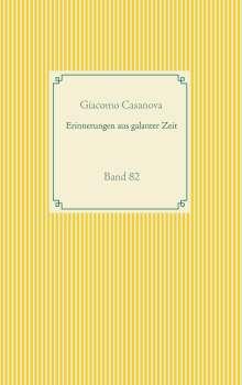Giacomo Casanova: Erinnerungen aus galanter Zeit, Buch