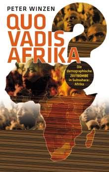 Peter Winzen: Quo vadis Afrika?, Buch