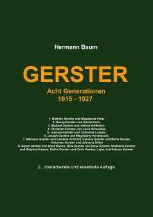 Hermann Baum: Gerster, Buch