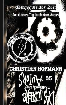 Christian Hofmann: Das düstere Tagebuch eines Autors, Buch
