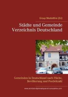 Heinz Duthel: St¿e und Gemeinde Verzeichnis Deutschland, Buch