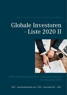 Heinz Duthel: Globale Investoren - Liste 2020 II, Buch