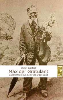 Ulrich Göpfert: Max der Gratulant, Buch