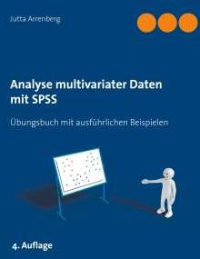 Jutta Arrenberg: Analyse multivariater Daten mit SPSS, Buch
