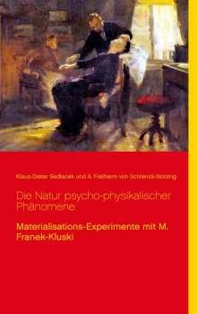 Klaus-Dieter Sedlacek: Die Natur psycho-physikalischer Phänomene, Buch