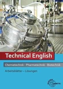 Klaus Eisenhardt: Lösungen zu 71835: Arbeitsblätter Technical English Chemietechnik, Pharmatechnik, Biotechnik., Buch