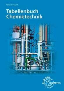 Walter Bierwerth: Tabellenbuch Chemietechnik, Buch