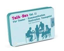 Claudia Filker: Talk-Box Vol. 11 - Für Teams, Diverse
