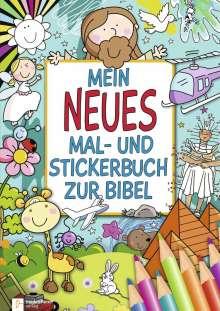 Mein neues Mal- und Stickerbuch zur Bibel, Buch