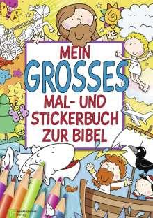 Mein großes Mal- und Stickerbuch zur Bibel, Buch
