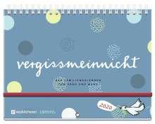 Katharina Brudereck: vergissmeinnicht 2020 - Der Familienkalender für Hand und Wand, Diverse