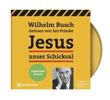 Wilhelm Busch: Jesus unser Schicksal - ungekürztes Hörbuch, 2 CDs