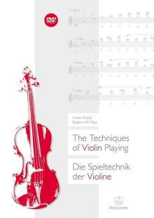 Irvine Arditti: Die Spieltechnik der Violine (The Techniques of Violin Playing), Noten