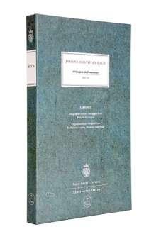 """Johann Sebastian Bach (1685-1750): """"O Ewigkeit, du Donnerwort"""" BWV 20, Noten"""