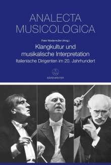 Klangkultur und musikalische Interpretation, Buch