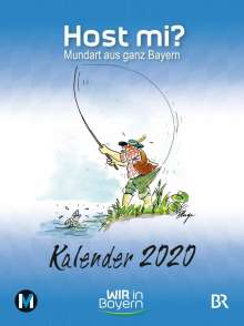 Anthony Rowley: Host mi? Kalender 2020, Buch