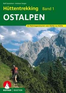 Ralf Gantzhorn: Hüttentrekking Band 1: Ostalpen, Buch