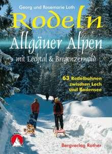 Georg Loth: Rodeln Allgäuer Alpen, Buch
