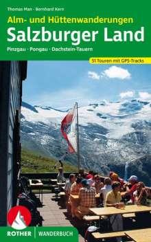 Thomas Man: Alm- und Hüttenwanderungen Salzburger Land, Buch