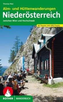 Thomas Man: Rother Wanderbuch Niederösterreich, Alm- und Hüttenwanderungen, Buch