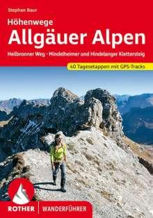 Dieter Seibert: Allgäuer Alpen Höhenwege, Buch