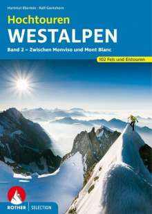 Hartmut Eberlein: Hochtouren Westalpen Band 2, Buch