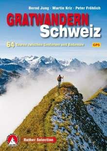 Bernd Jung: Gratwandern Schweiz, Buch