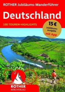 ROTHER Jubiläums-Wanderführer Deutschland, Buch