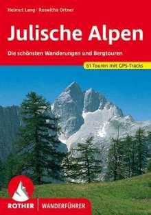 Helmut Lang: Julische Alpen, Buch