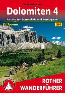 Franz Hauleitner: Bergwanderungen in den Dolomiten 4, Buch