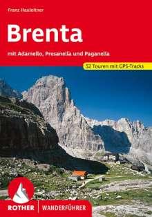 Franz Hauleitner: Brenta mit Adamello,Presanella und Paganella, Buch