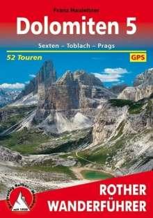 Franz Hauleitner: Dolomiten 5, Buch