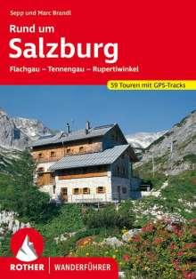 Sepp Brandl: Rund um Salzburg, Buch