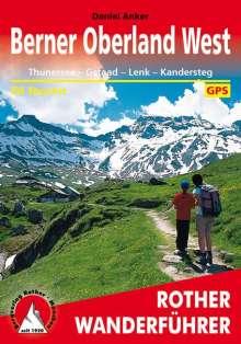 Daniel Anker: Berner Oberland West, Buch