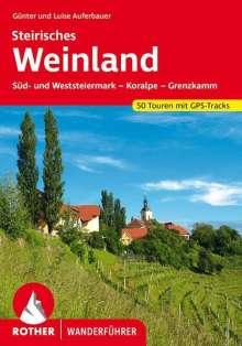 Günter Auferbauer: Steirisches Weinland, Buch